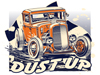 Jalopy Dust Up event T-shirt designs