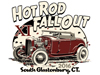 Hot Rod Fall Out event T-shirt design