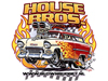 House Brothers Drag Racing T-shirt design