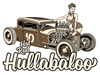 Hot Rod Hullabaloo event promotion - posters and T-shirts