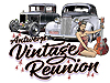 Antwerp Vintage Reunion event promotion - posters and T-shirts