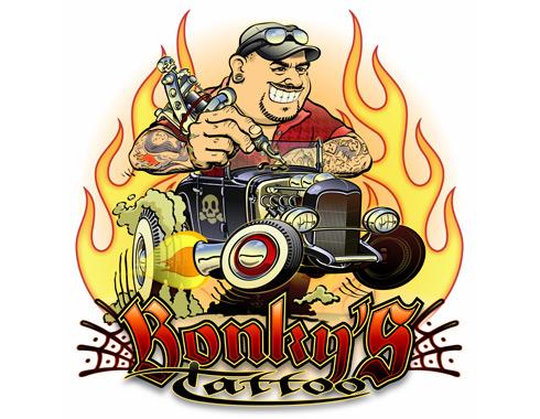logo Bonky's Tattoo
