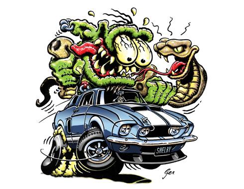 Portfolio Hot Rod Art Monsters With Attitude C